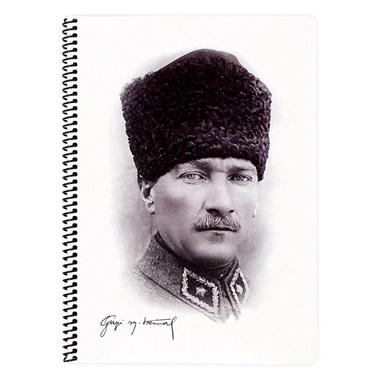 Keskin Color Atatürk A4 Kareli 80 Yaprak Defter Renkli